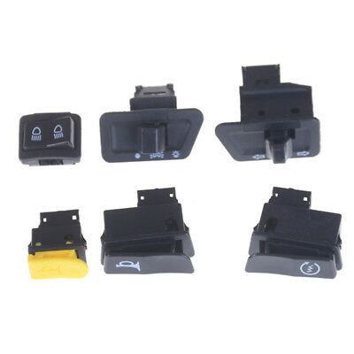2 Sets Turn Signal Headlight Ignition Horn Switch Caps for GY6 50 125 150cc