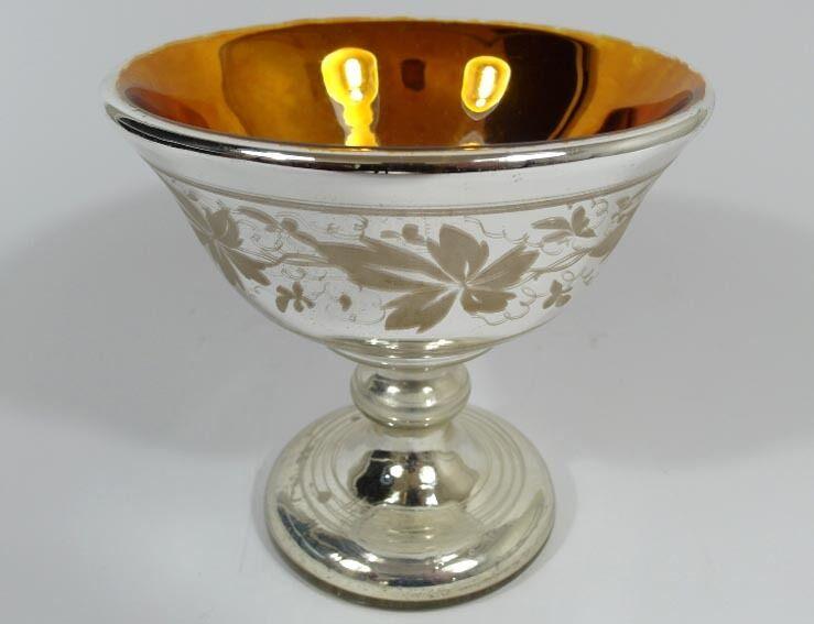 Silberglas Bauernsilber Schale Blaumen um 1850 - 1870 | Niedrige Niedrige Niedrige Kosten  c6c1a2