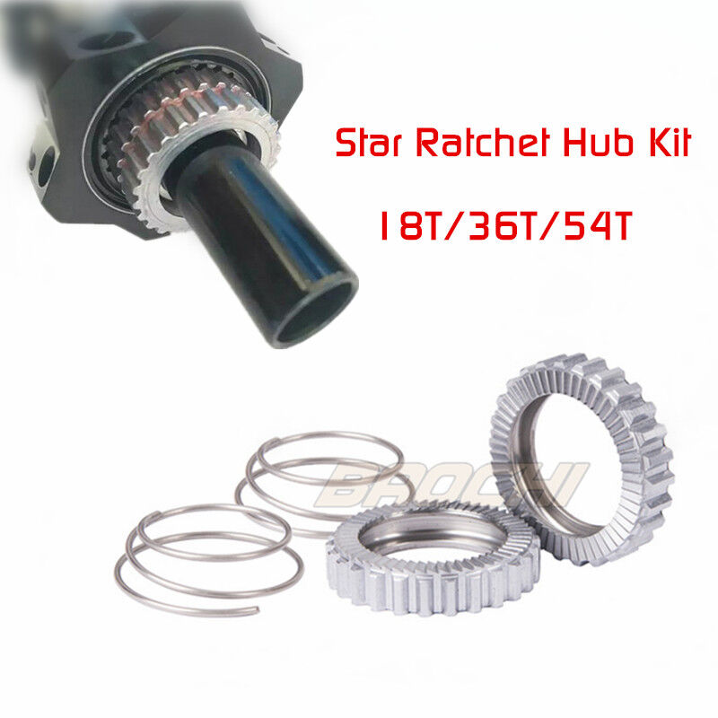 18T 36T 54T Star Ratchet Hub Kit  for DT Swiss 180 190 240S 340 350 440 540 hubs  with 100% quality and %100 service