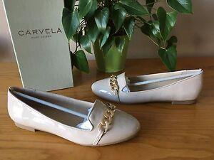 Carvela 39 £65 Uk Patent Rrp Geiger Flat Kurt Eu scarpe Melissa Bnib Nude 6 qRvwAnqr
