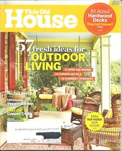 Good Image Is Loading This Old House Magazine June 2015 Outdoor Living