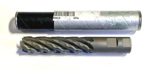 """Weldon 1/"""" Crest Kut End Mill 6 Flute High Speed Steel 6-1//2/"""" Length USA Made"""