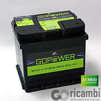 Car battery made in Italy 50ah 380en 12v 207x175x190 | eBay