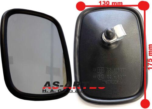 los espejos retrovisores ausenspiegel 175x130 para tractor Man Tc1254//1 unid