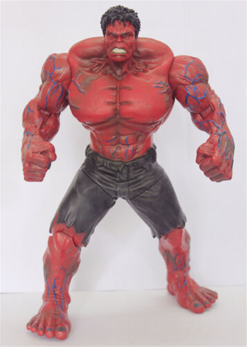 10inch Red Hulk Avengers Hero Collection PVC Action Figure Toys Kids Xmas Gift