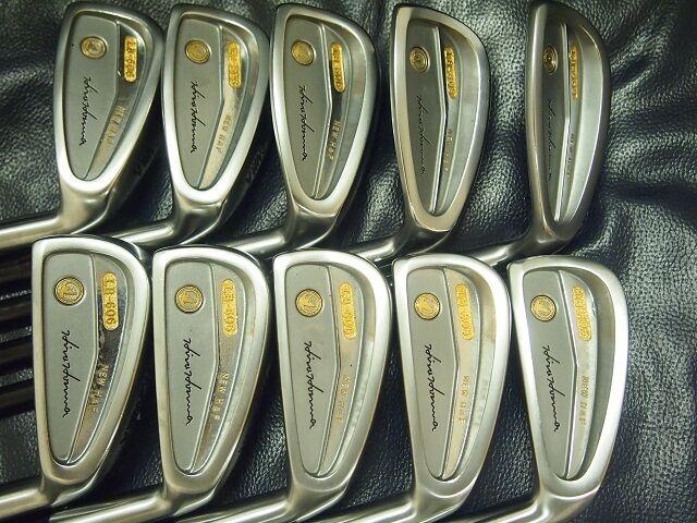 Honma Mens LB606 New H&F golf iron 18K gold 4s Black Shaft limited Near Mint!