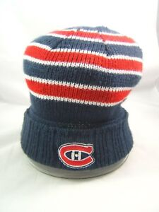 1989a52a6108fe Image is loading Montreal-Canadiens-NHL-Hockey-Winter-Hat-Reebok-Toque-