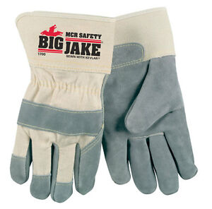 MEMPHIS 1700XL BIG JAKE LEATHER PALM GLOVES, Size X LARGE (1 Pair)