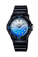 Casio Watch * LRW200H-2E Diver Look 100WR Black w/ Blue for Women COD PayPal