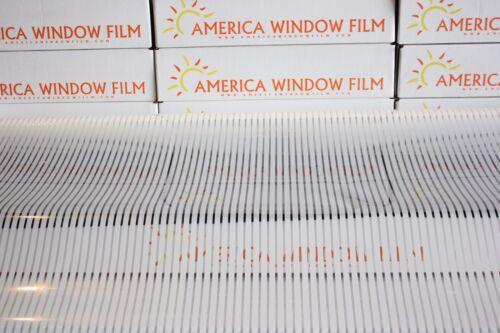 "WINDOW FILM TINT DECORATIVE PRIVACY 30/"" X 100 FT VENETIAN BLIND"