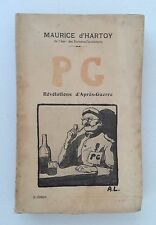 Maurice d'Hartoy: P. G. prisonnier de guerre, révélations d'après guerre 1921