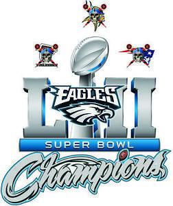 Philadelphia eagles champions. Details about super bowl