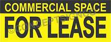 15x4 Commercial Space For Lease Banner Outdoor Sign Real Estate Property