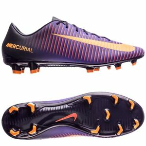 76cbbba57f4d Mens Nike Mercurial Veloce III FG Soccer Cleats 11.5 Purple Citrus ...