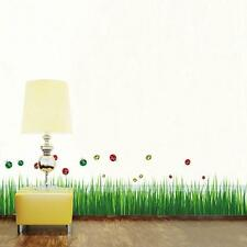 Insects Grass Skirting Line Removable Vinyl Art Wall Sticker Decal Home Decor