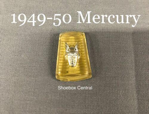1949-50 Mercury Horn Button Emblem