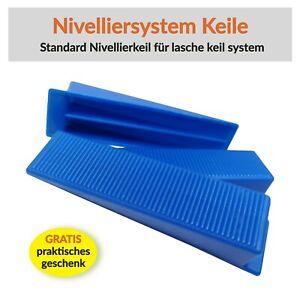 2mm 100tlg Keile Für Fliesen Verlegehilfe Nivelliersystem 300tlg Zuglaschen