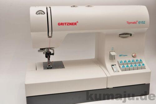 Gritzner 6152 DFT Nähmaschine mit Obertransport