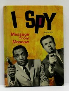 Vintage-Whitman-TV-I-Spy-message-from-Moscow-1966-Nice-Above-Average-Copy