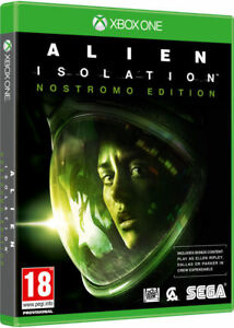 ALIEN-Isolation-Nostromo-Edition-xbox-one-come-nuovo-1st-Class-consegna
