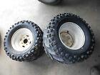 polaris scrambler 400 rear back wheel rim tires rims wheels 95 96 97 98 99 set
