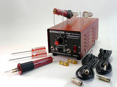 Mastercarver Burnmaster Eagle WOOD BURNER package ** Professional woodburner