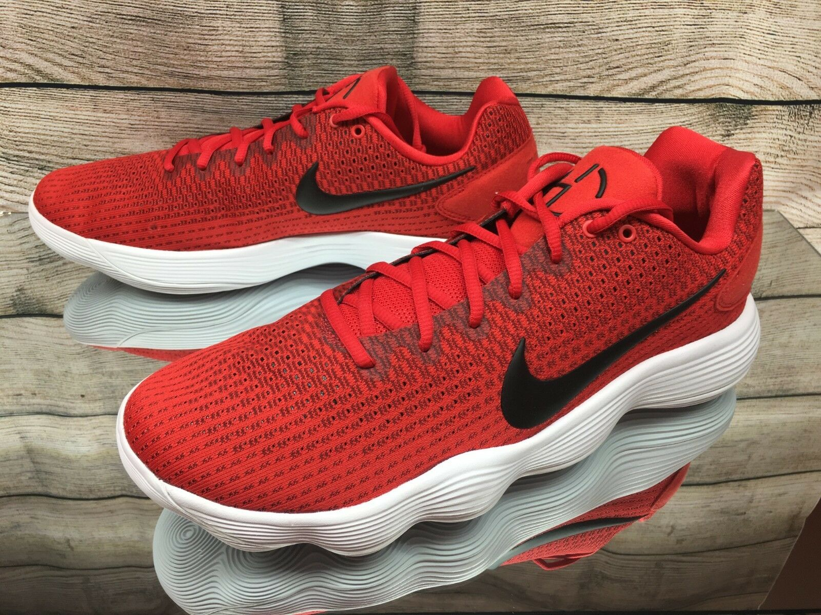 eb66888f51e Nike Hyperdunk 2017 Low Men Basketball Shoes Red Black 897663-600 14 ...
