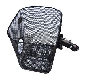 fahrradkorb vorne m klickverschluss schwarz fahrrad korb. Black Bedroom Furniture Sets. Home Design Ideas