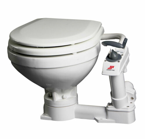 Bootstoilette Johnson Pump SPX Aqua T Komfort Becken Boote Yachten Toilette