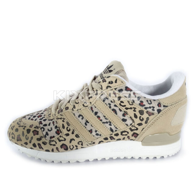 48bb9d9e1 adidas Originals ZX 700 Leopard Cheetah Retro Running SNEAKERS Shoes ...