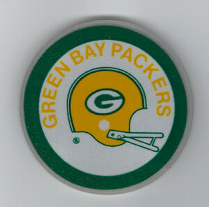 1970-039-s-Green-Bay-Packers-bike-reflector-vintage-rare-double-sided-2-bar-helmet