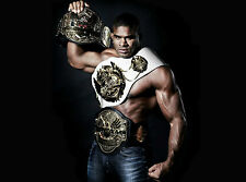 Framed Print - The Reem Alistair Overeem UFC Fighter (Picture Poster MMA Art)