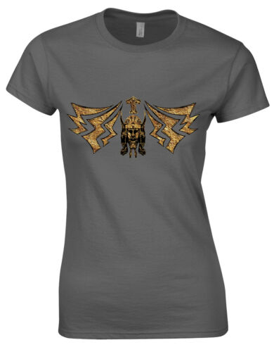 Prayer to Thor God Of Thunder Hammer Lightning Two-Sided Ladies Tshirt Top AG60