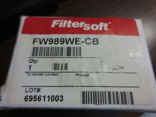 NEW SURPLUS KILLER FILTER FW989WE-CB FILTER ELEMENT FILTER-SOFT