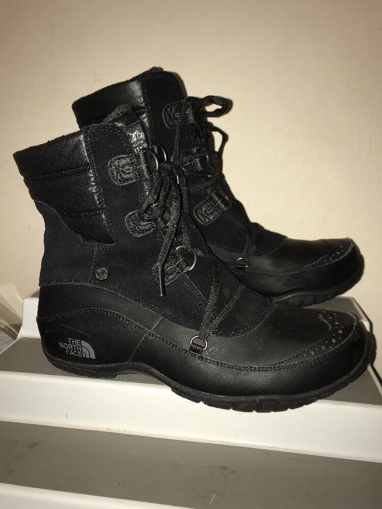 il prezzo più basso The North Face donna Nuptse Purna Shorty Shorty Shorty nero Lace Up stivali scarpe Dimensione 10 M  garanzia di credito