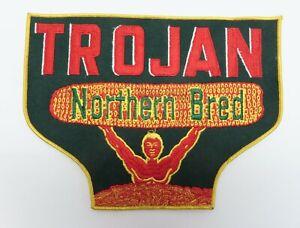 Trojan Seed Corn Company, Olivia MN Farm, Vintage Large Embroidered Logo, Mint