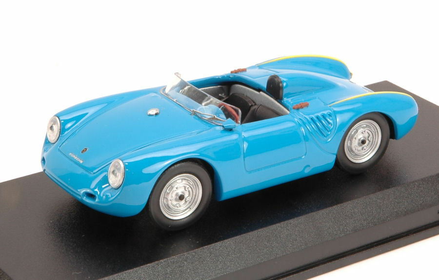 Porsche 550 Rs 1957 4 Cilinders 110 Cv  Azzurro 1 43 Model BEST MODELS  abordable