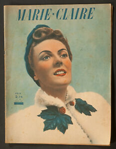 039-MARIE-CLAIRE-039-FRENCH-VINTAGE-MAGAZINE-5-APRIL-1941