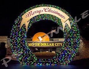 Silver Dollar City Christmas.Details About Missouri Branson Silver Dollar City Christmas Lights Lexible Fridge Magnet