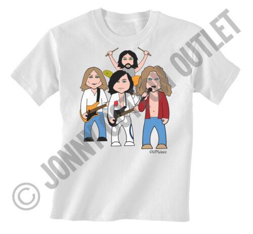 VIPwees Mens T-Shirt Rock Metal Music Inspired Caricatures Choose Your Design