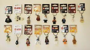 LEGO-Porte-Cles-Keychain-Star-Wars-Choisissez-vos-propres