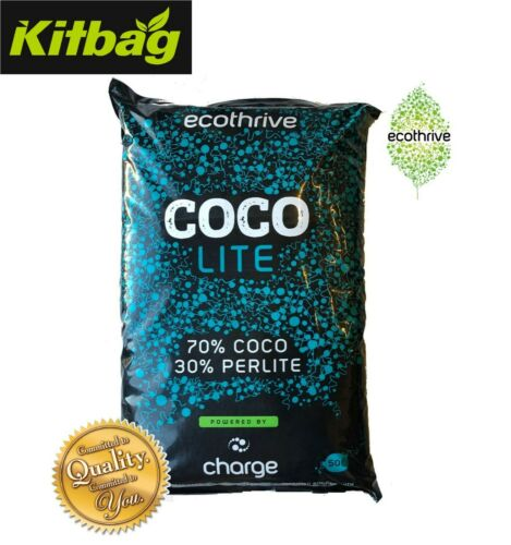 ECOTHRIVE CHARGE COCO Perlite Lite Mix Clay Pebble Mix Growing Media Hydroponics