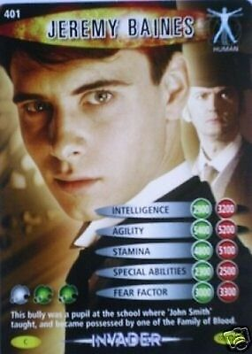MINT !! DR WHO INVADER CARD 545 JOHN SMITH