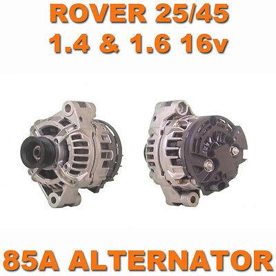 ROVER 25 45 MGZR MGZS 99-05 1.4 1.6 1.8 K SERIES PETROL BRAND NEW 85A ALTERNATOR
