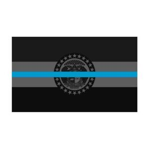 Missouri-MO-State-Flag-Thin-Blue-Line-Police-Sticker-Decal-263-Made-in-USA