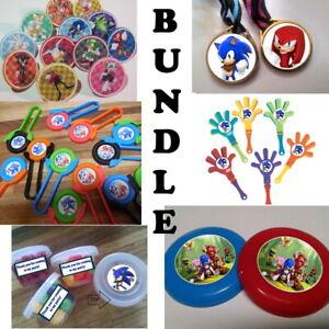 New Sonic The Hedgehog Birthday Party Favor Bundle Bag Treats Boom Cupcake Ebay