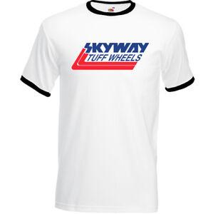 Skyway-Tuff-Wheels-Mens-Retro-BMX-T-Shirt-Cycling-Bandit-Bike-Mongoose-MTB