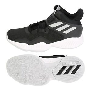 49807a36c7f8 Image is loading Adidas-Men-Explosive-Bounce-2018-Shoes-Basketball-Black-