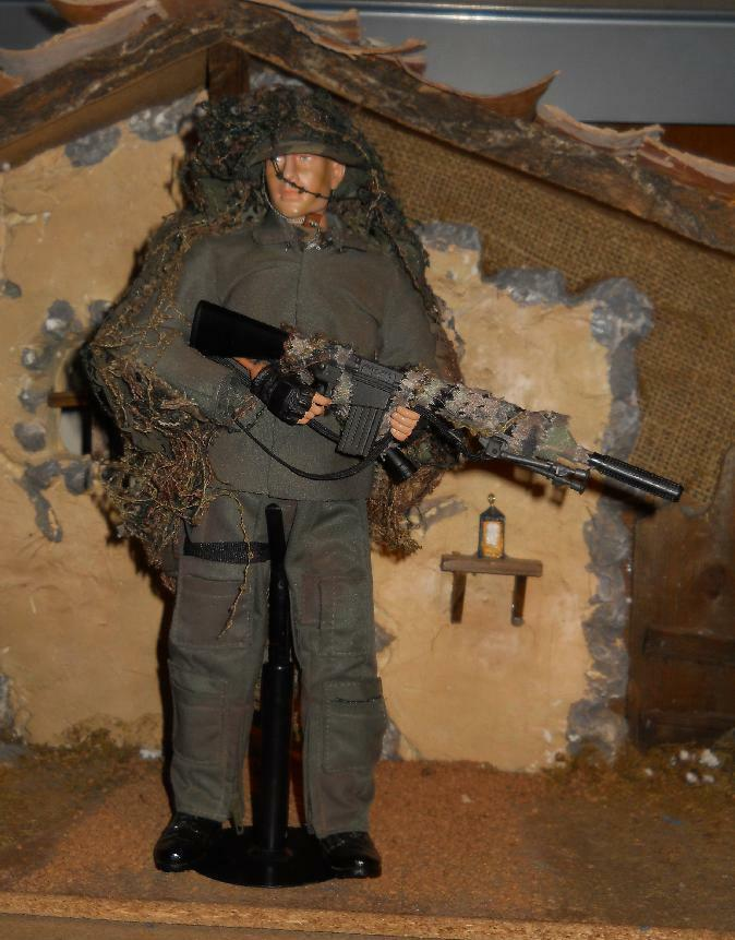 1 6 Dragon US Army Ranger SNIPER Action Figure Loose