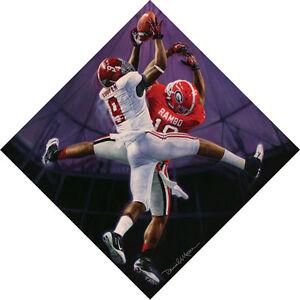 "Daniel Moore ""High Tide"" Alabama Football Lithograph Print"